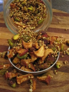 Apple-Pistachio Granola