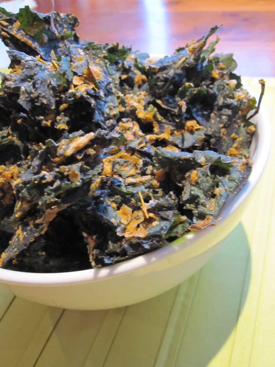Day 56 - Sun-Dried Tomato Kale Chips