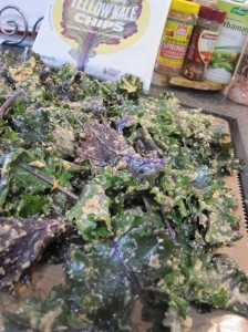 Sun-dried Tomato Kale Chips