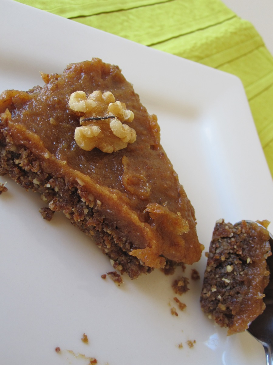 Day 104 - Date Nut Torte