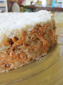Carrot, Apple Kuchen
