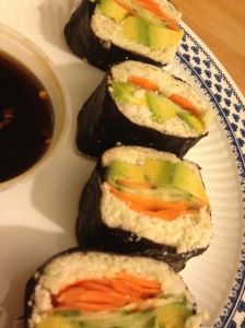 Nori Rolls with Dipping Sauce