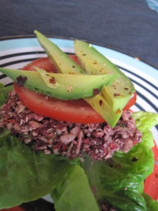 Raw Vegetable Burger