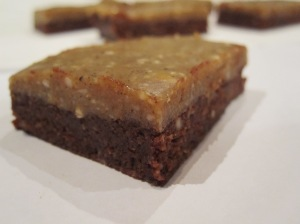 Caramel-Fudge Brownies