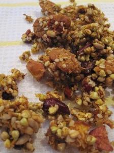 Buckwheat, Pecan and Apple Granola
