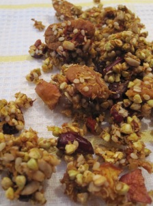 Buckwheat, Pecan and Apple Granola