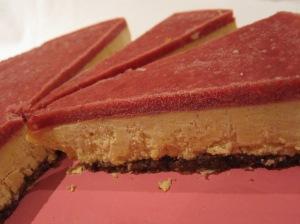 Mandarin and Pomegranate Cheesecake