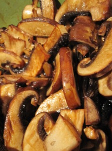 Simple Seasoned Mushrooms