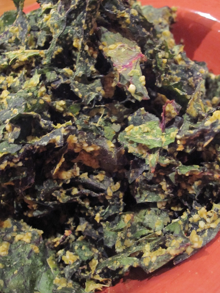Day 252 - Curried Kale Chips