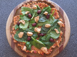 Spicy Italian Herb Pizza