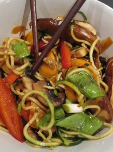 Asian Marinated Mushroom Noodles