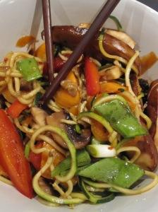 Asian Marinated Mushroom Noodles