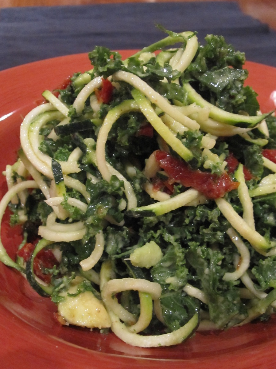Day 244 - Sun-Dried Tomato Kale Noodle Salad