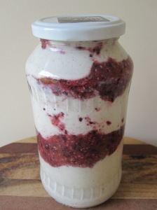 Coconut, Macadamia and Berry Yoghurt