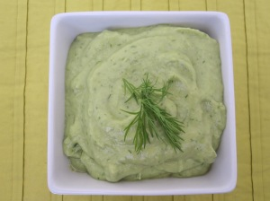 Avocado and Cucumber Dip