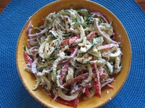 Zucchini Fettucine